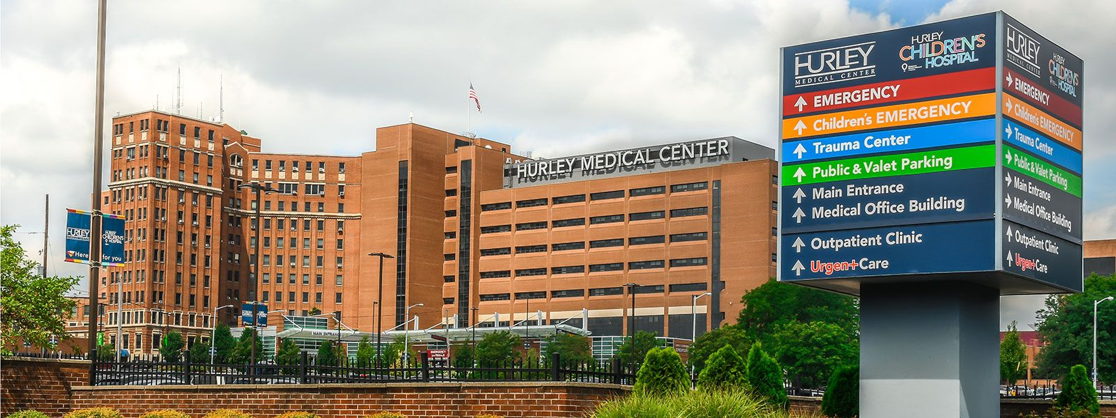 Hurley Urgent Care - Main Campus Building